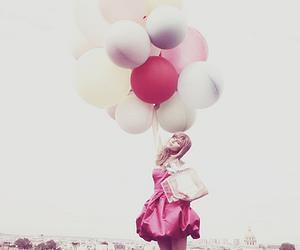 balloons, dior, and dress image