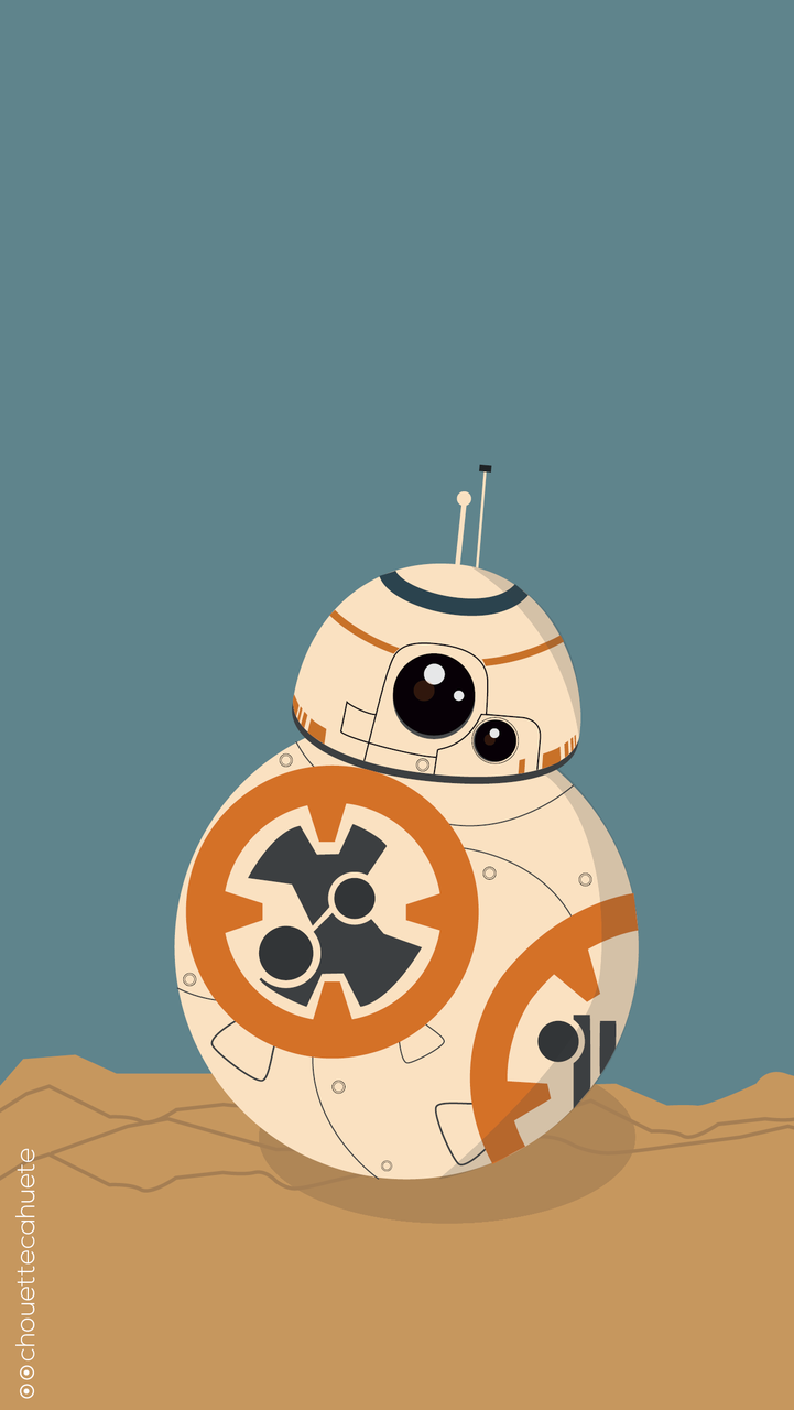 Star Wars BB8 wallpaper discovered by