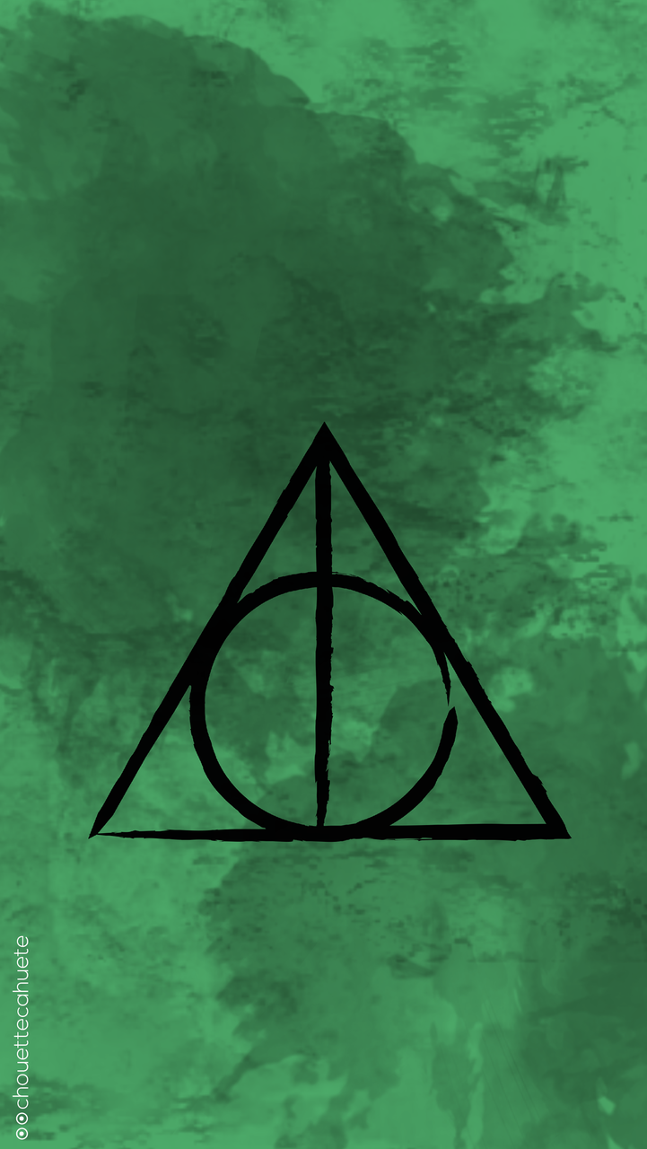 Deathly Hallows Wallpaper Discovered By Coralie Perot