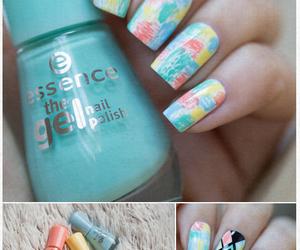 essence, mint, and nail polish image