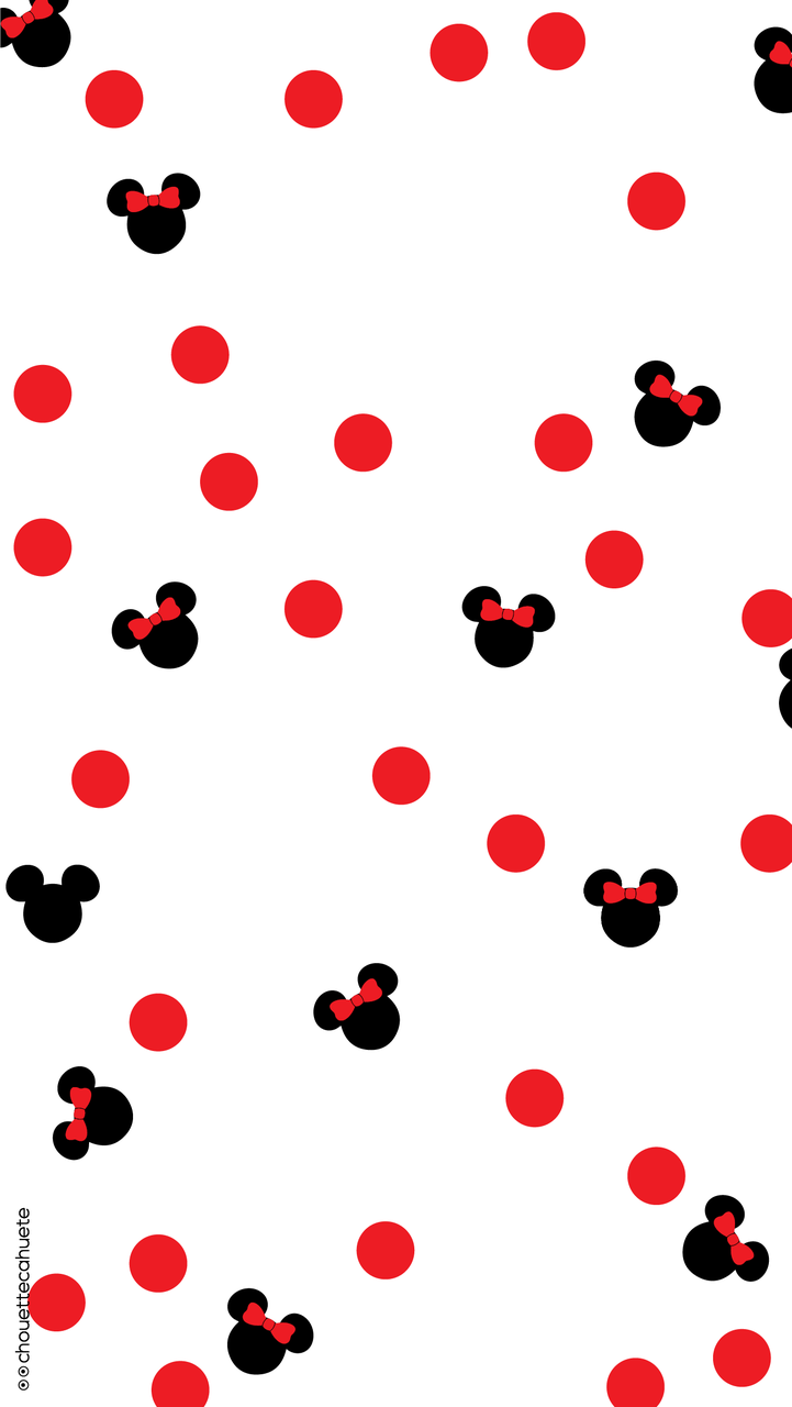 Cute Minnie wallpaper shared by Coralie