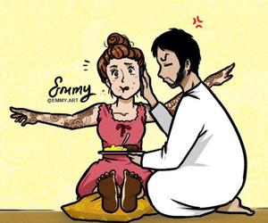 arabic, art, and eid mubarak image