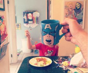 breakfast, funny, and geek image