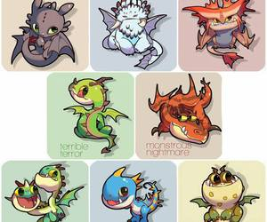 dragons and httyd image