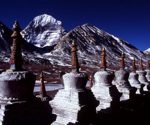mistic, monastery, and mountain image
