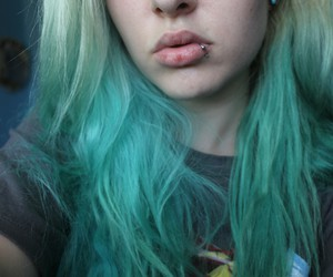 blue, cute, and hair image
