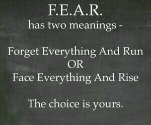 fear, quotes, and true image