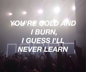 grunge, quote, and settle down image