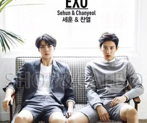 exo, sehun, and chanyeol image