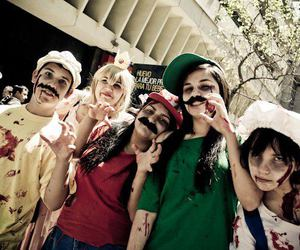 brains, cosplay, and mario bross image