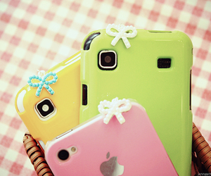 cute, iphone, and phone image