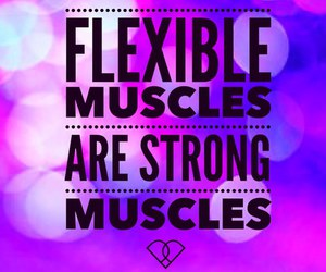 flexible, july, and muscles image