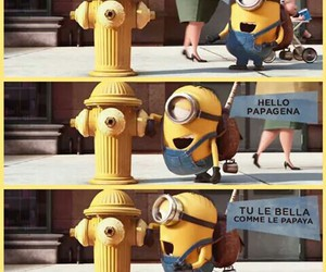 Minion Kissing Camera : Images about minion rush on we heart it see more about