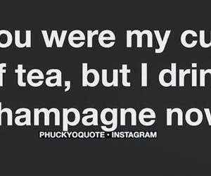 champagne, funny, and quotes image
