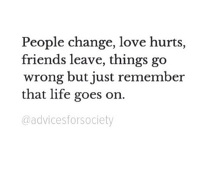 life, quotes, and life goes on image