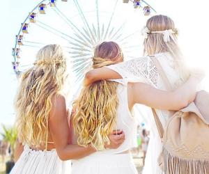 coachella, hair, and summer image