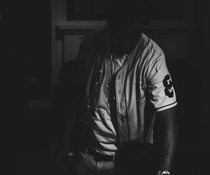 black, bw, and Drake image