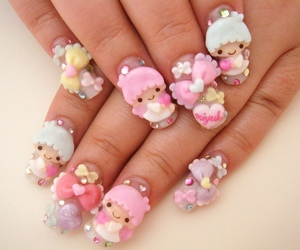 nails, kawaii, and cute image