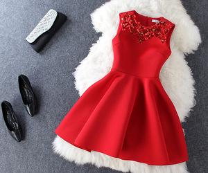 dress, luxury, and fashion image