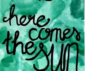 abbey road, george harrison, and here comes the sun image