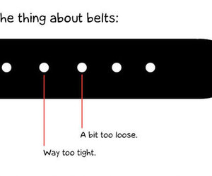 belt, funny, and lol image