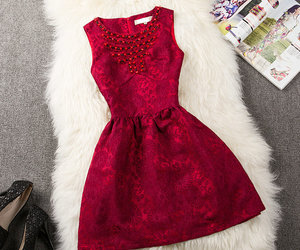 dress, short dress, and style image