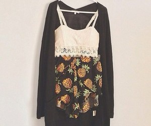 outfit, fashion, and pineapple image
