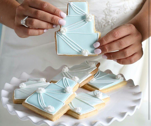 blue, cake, and party image