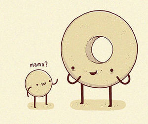 donuts, cute, and mama image