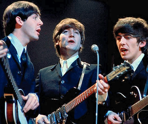 john lennon, Paul McCartney, and george harrison image