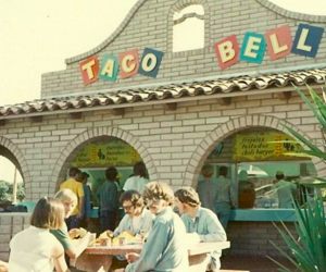 retro, taco bell, and vintage image