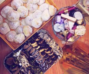 arabic, chocolate, and Cookies image
