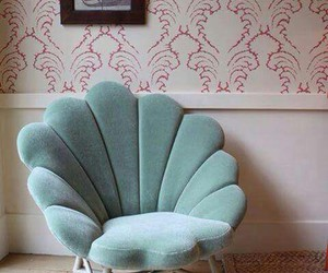chair, home, and mermaid image