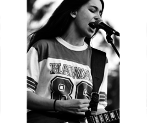 black and white, girl, and icon image