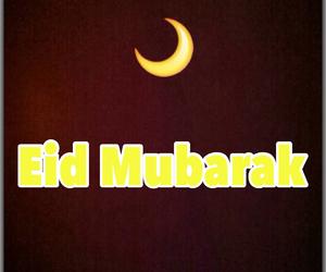 eid, happy, and islam image