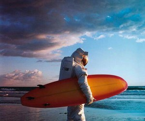 surf and astronaut image