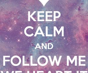 calm, keep calm, and follou image