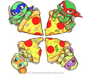 pizza, tmnt, and turtle image