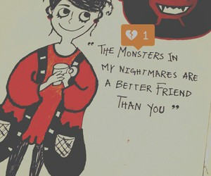 monsters, sketchbook, and summervacation image