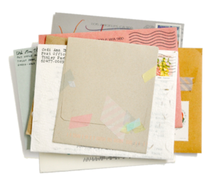 envelopes, letters, and vintage image