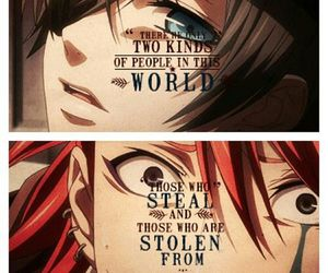 black butler, joker, and anime image
