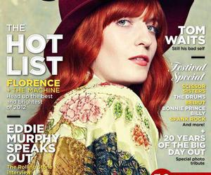 florence and the machine, florence welch, and magazine image