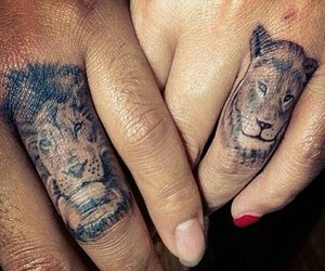 couples, tattoo, and Leo image