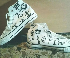 shoes, runes, and shadowhunters image