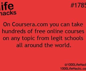 life hacks and school image