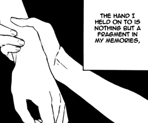 black and white, manga, and quote image