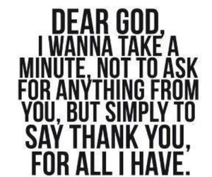 god, quotes, and thank you image