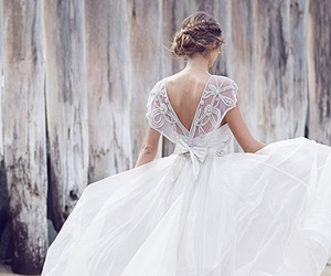 beautiful, fashion, and wedding image