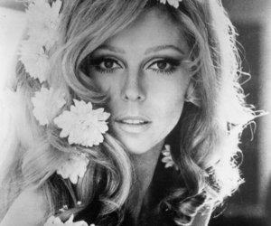 nancy sinatra, flowers, and hair image