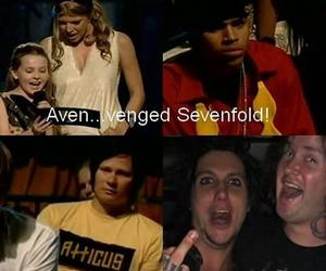 avenged sevenfold, a7x, and funny image